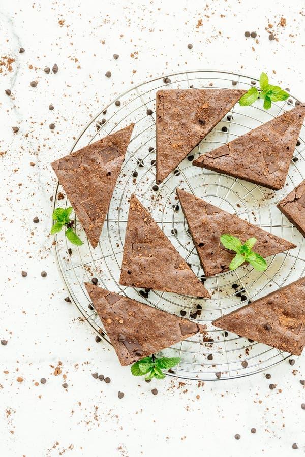 Schokoladen-Schokoladenkuchen lizenzfreie stockfotografie