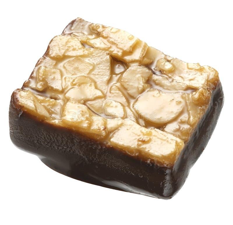 Schokoladen-Tropfen lizenzfreie stockbilder