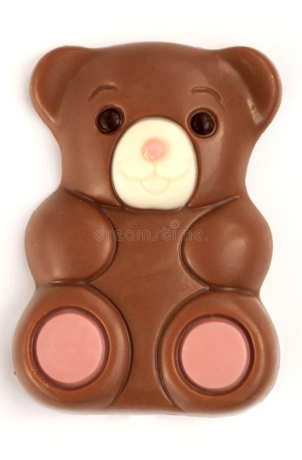 Schokoladenbär stockfotos