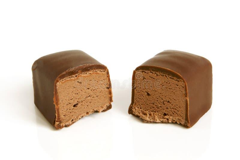 Schokoladenbonbon lizenzfreie stockfotos
