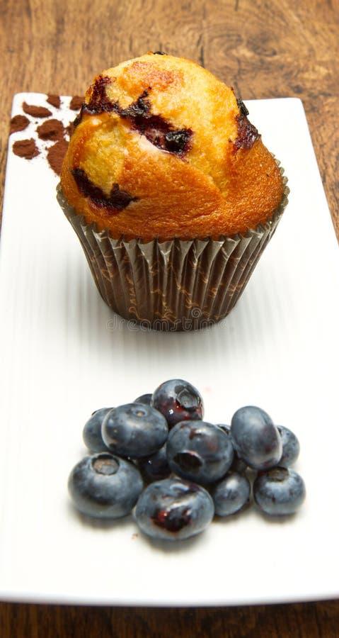 Schokoladenchip-Muffin lizenzfreie stockfotografie