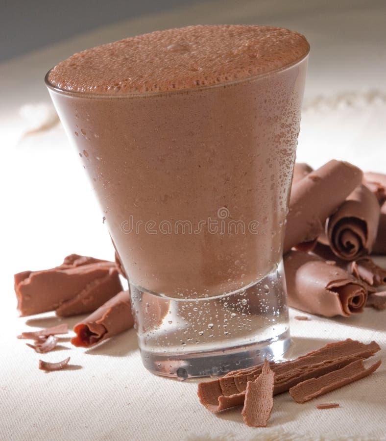 Schokoladengetränk stockbild