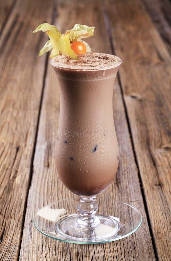 Schokoladengetränk lizenzfreie stockfotos