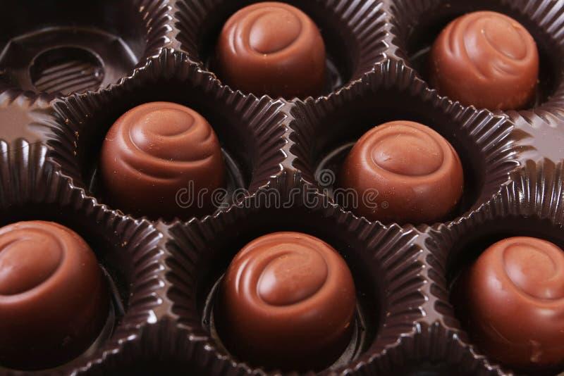 Schokoladenkasten lizenzfreie stockfotografie