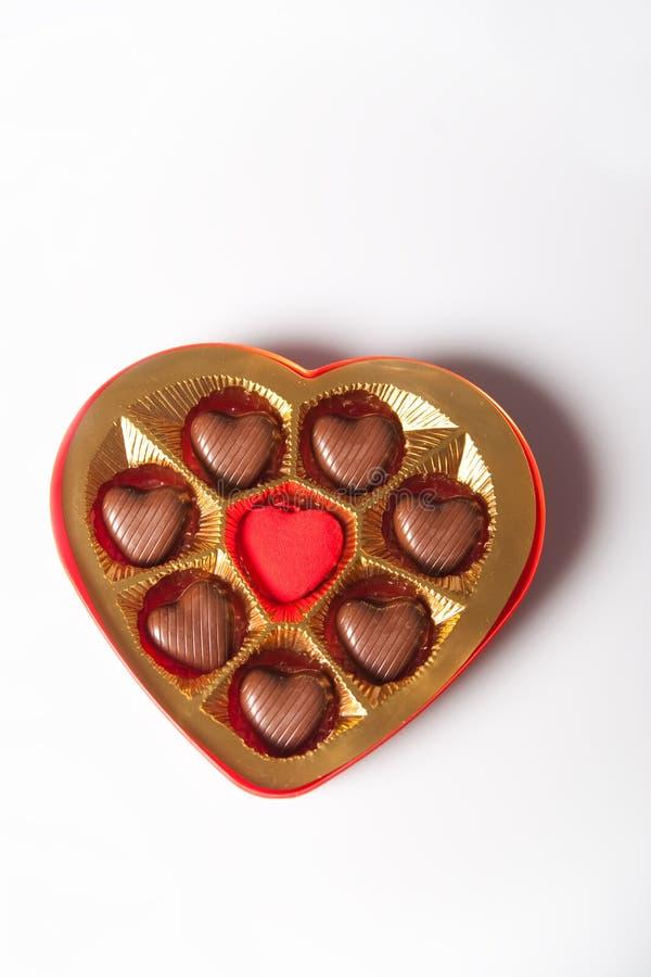 Schokoladenkasten stockbilder