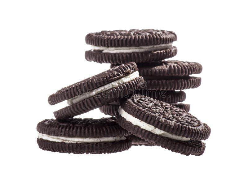 Schokoladenplätzchen stockfotografie