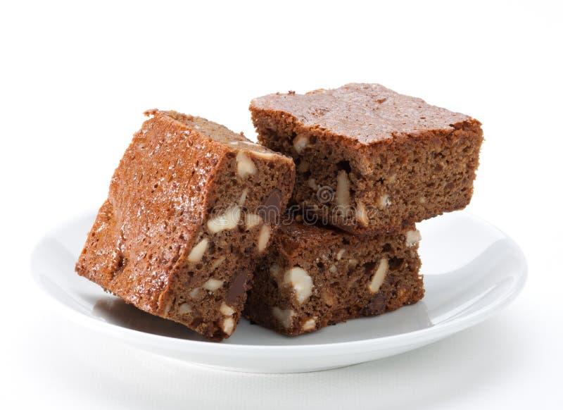 Schokoladenschokoladenkuchenkuchen stockfotos