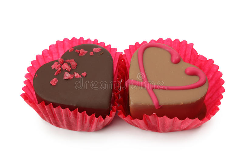 Schokoladentrüffeln lizenzfreie stockbilder