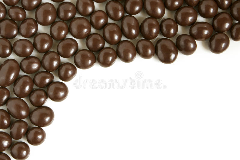 Schokoladentropfen lizenzfreies stockbild