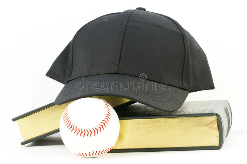 Scholar Athlete royalty free stock photo
