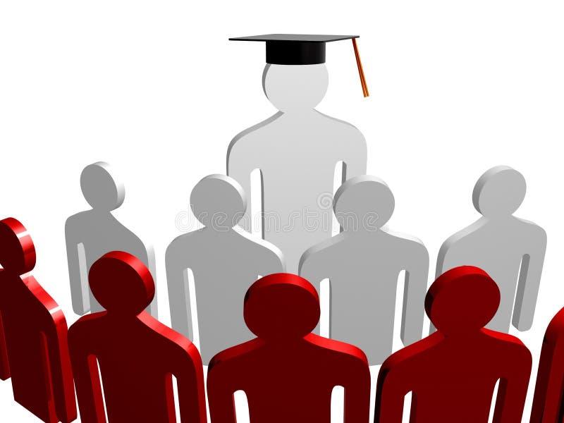 Download Scholar leader icon stock illustration. Image of team - 14155307