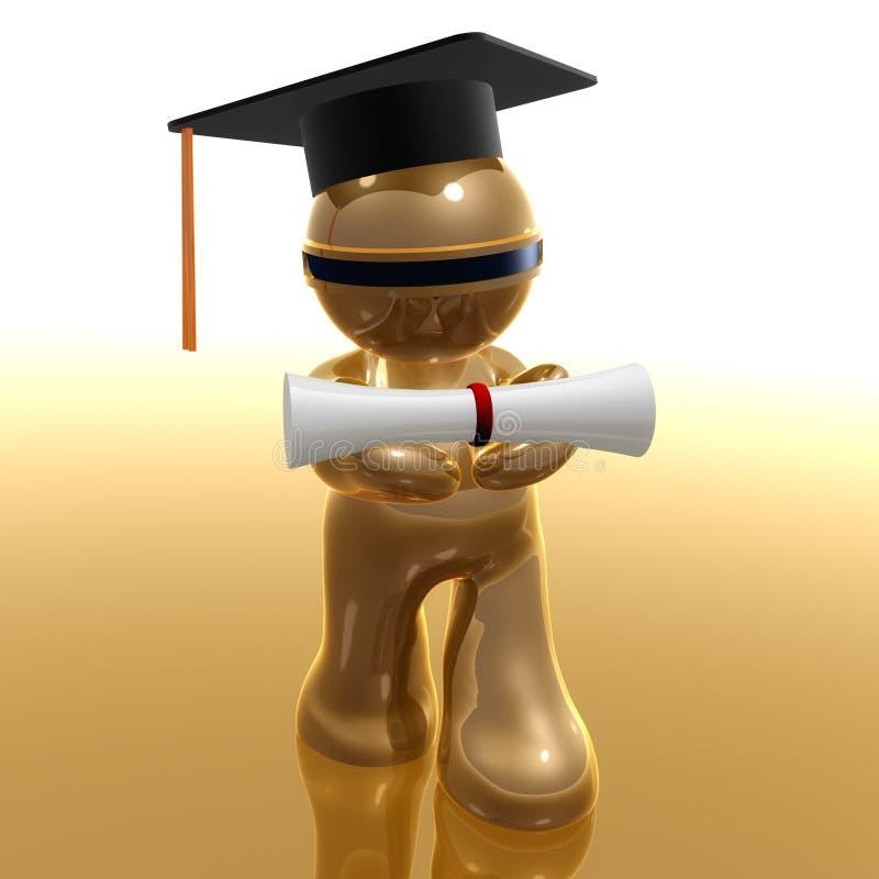 Download Scholarship And Graduation Futuristic Icon Stock Illustration - Image: 10500839