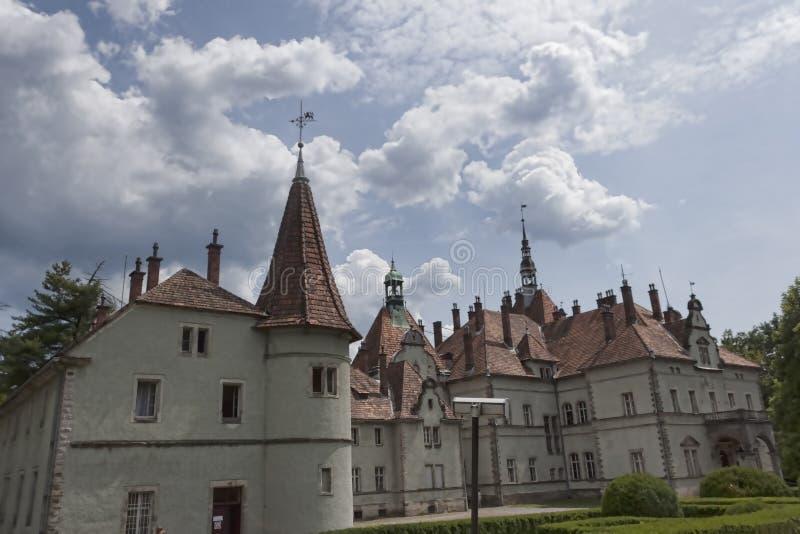 Schonborn城堡  库存照片