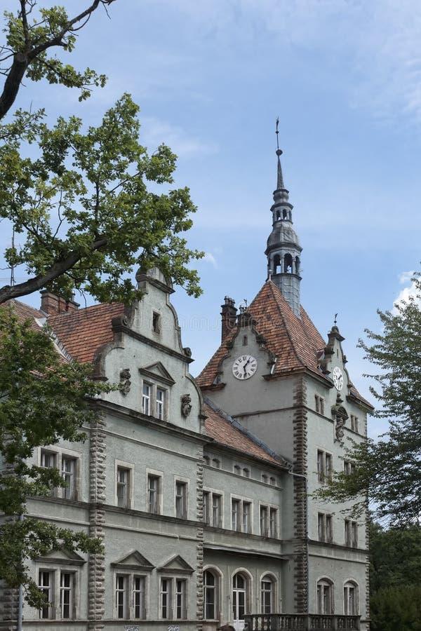 Schonborn城堡  免版税库存照片