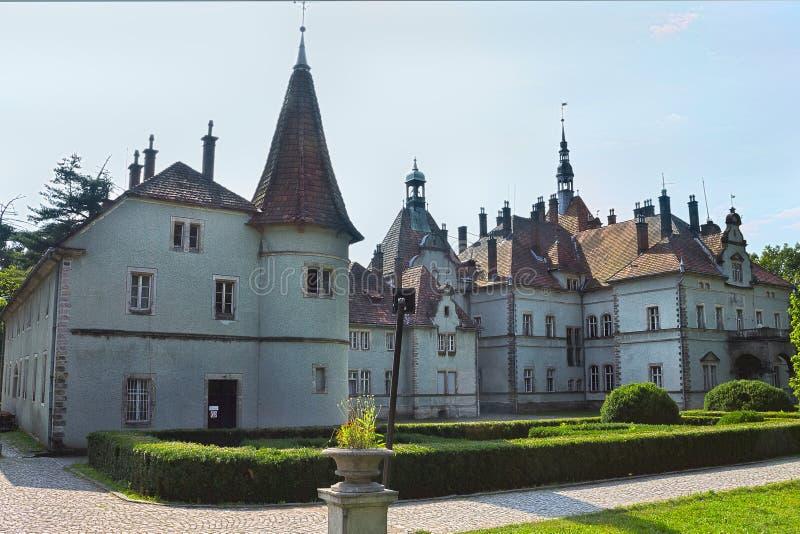 Schonborn狩猎城堡 免版税库存照片