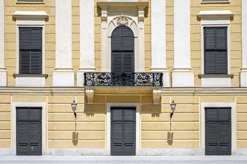 Schonbrunn宫殿 免版税图库摄影