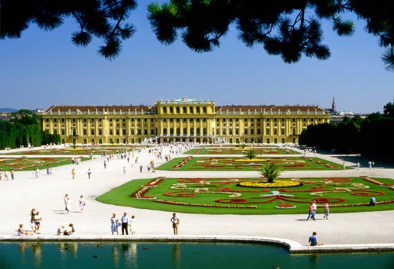 Schonbrunn宫殿 库存图片