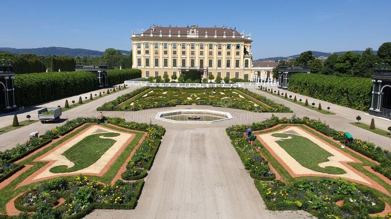 Schonbrunn, Βιέννη στοκ εικόνες