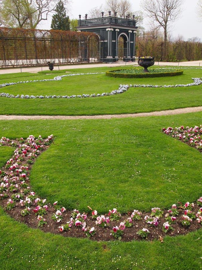 Download Schonbrunn castle gardens stock photo. Image of flower - 24268430