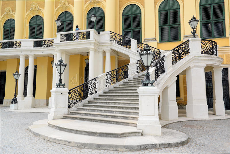 Schonbrunn Palace IV stock photography