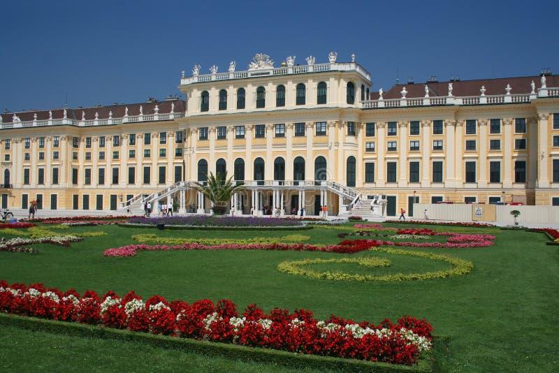 Schonbrunn Palast in Wien stockbild