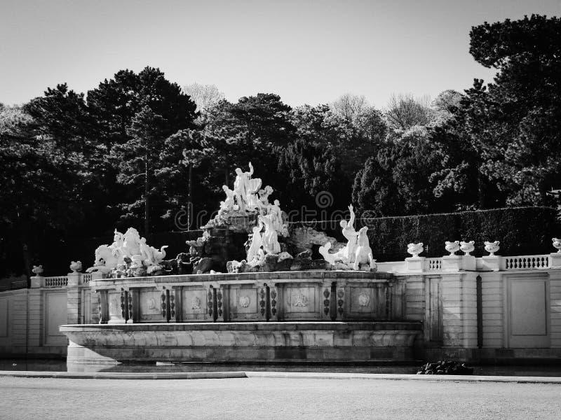 Schonbrunn Wenen stock foto