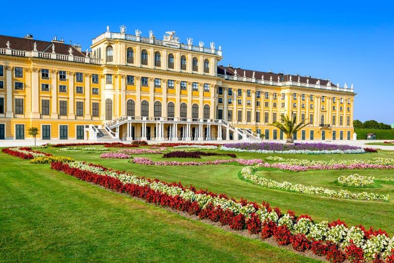 Schonbrunn, Wien, Österreich stockbild