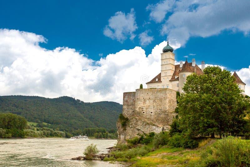 Schonbuhel城堡在奥地利 库存照片