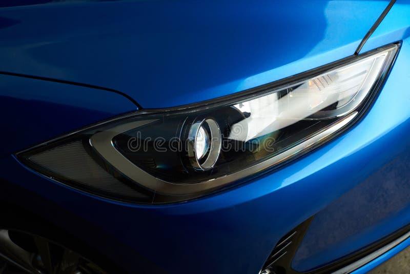 Schone autokoplamp royalty-vrije stock fotografie