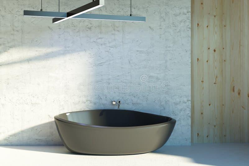 Schone badkamers met zonlicht vector illustratie
