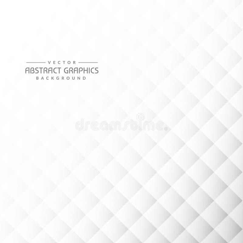 Schone grijze abstracte achtergrond met geometrische vormen royalty-vrije illustratie