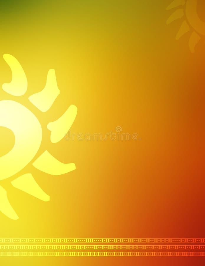 Schone kleurrijke achtergrond stock illustratie