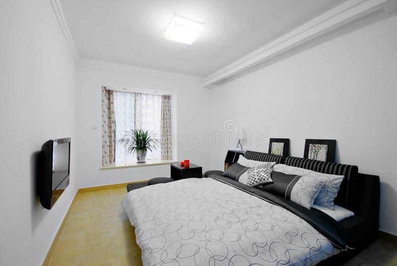 Schone slaapkamer royalty-vrije stock afbeeldingen