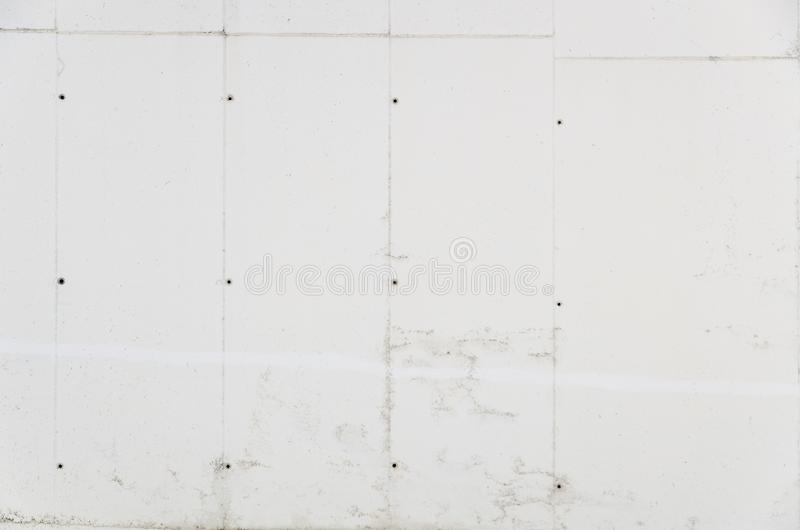 Schone witte concrete muur stock afbeelding