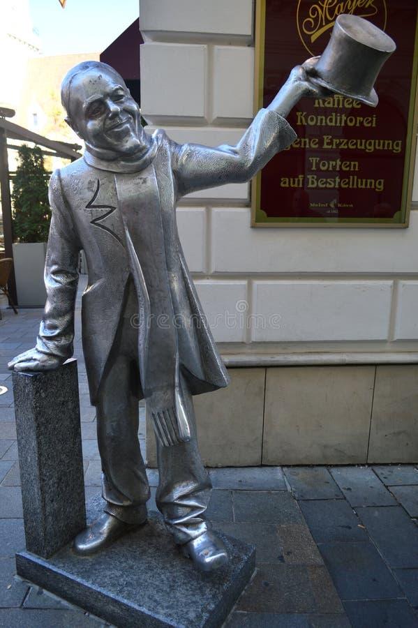 Schoner Naci staty Bratislava Slovakien royaltyfri bild