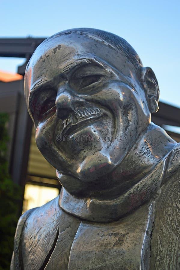 Schoner Naci staty Bratislava Slovakien royaltyfria foton