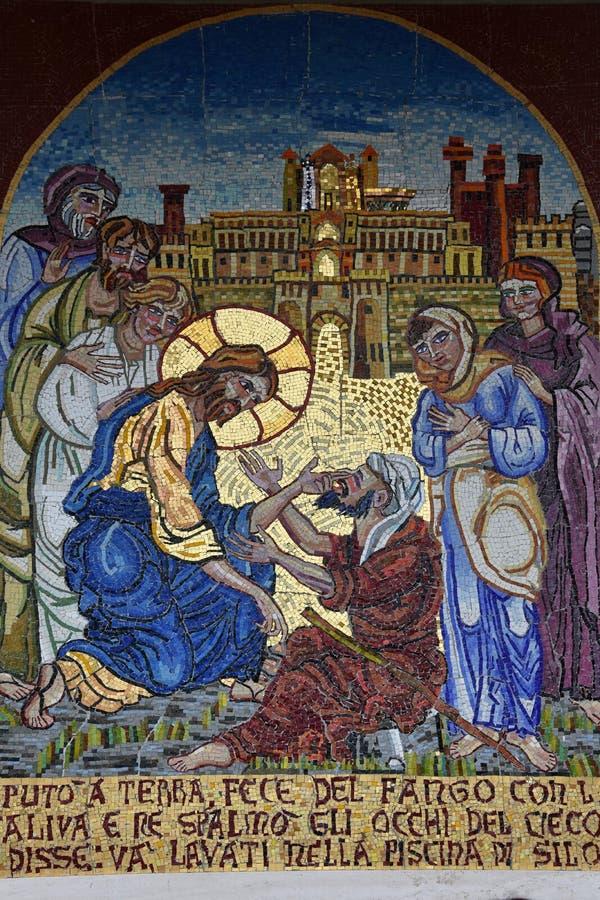 Schongebiet Madonna der Pracht in Giulianova lizenzfreies stockfoto