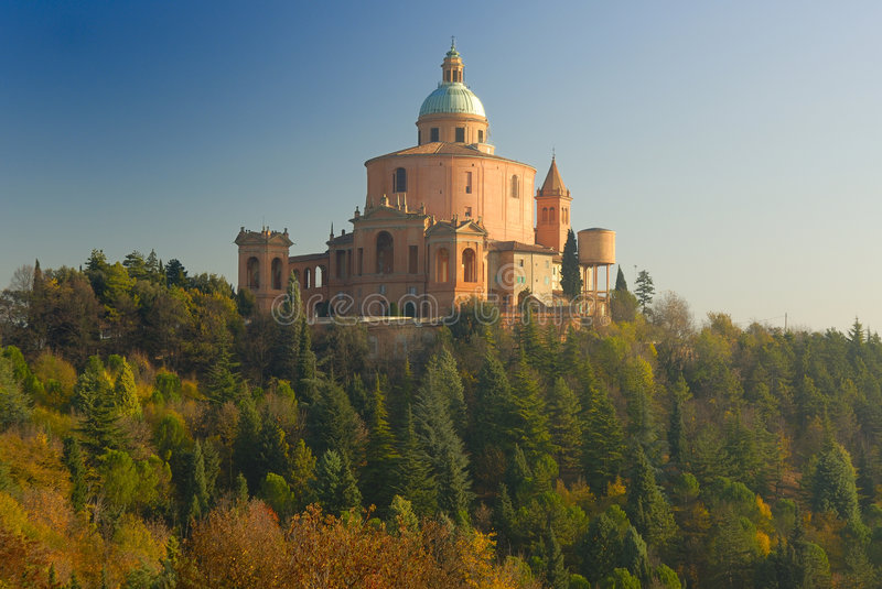 Schongebiet Madonna di San Luca lizenzfreie stockfotos