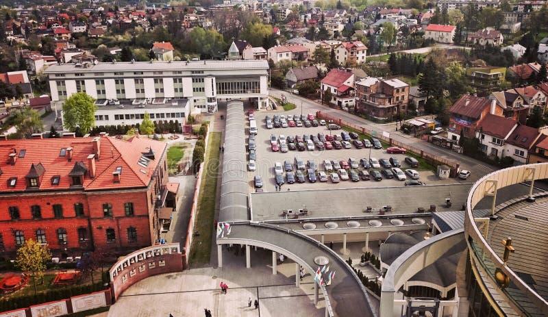 Schongebiet Misericordia in Krakau, Polen stockfotografie
