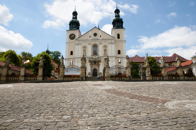 Schongebiet von Kalwaria Zebrzydowska - Polen lizenzfreies stockfoto