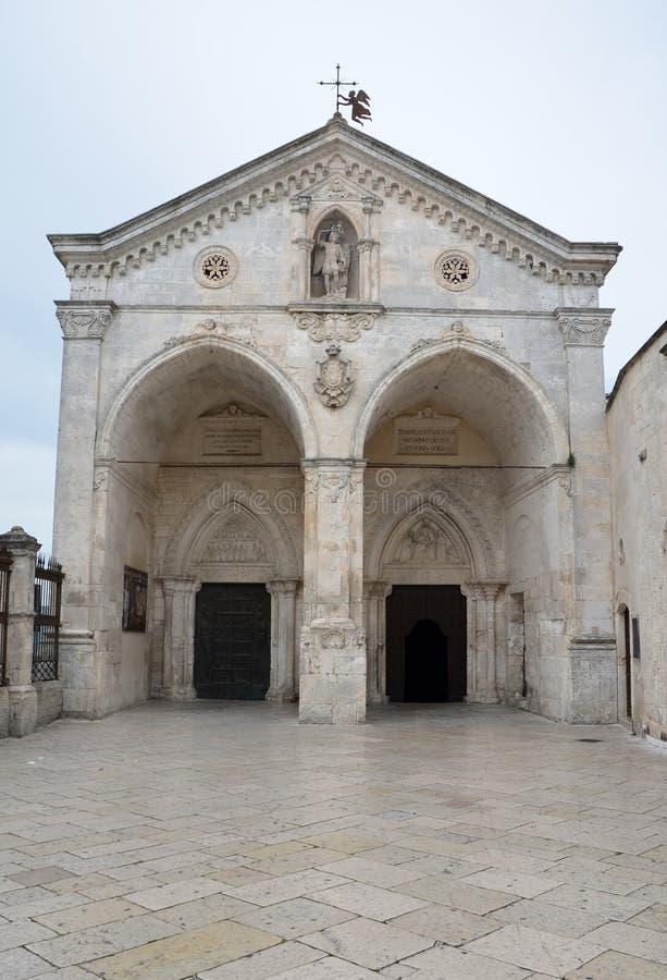 Schongebiet von Monte Sant ' Angelo lizenzfreie stockbilder