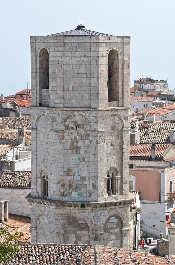 Schongebiet von Monte Sant'Angelo. Puglia. Italien. lizenzfreies stockfoto