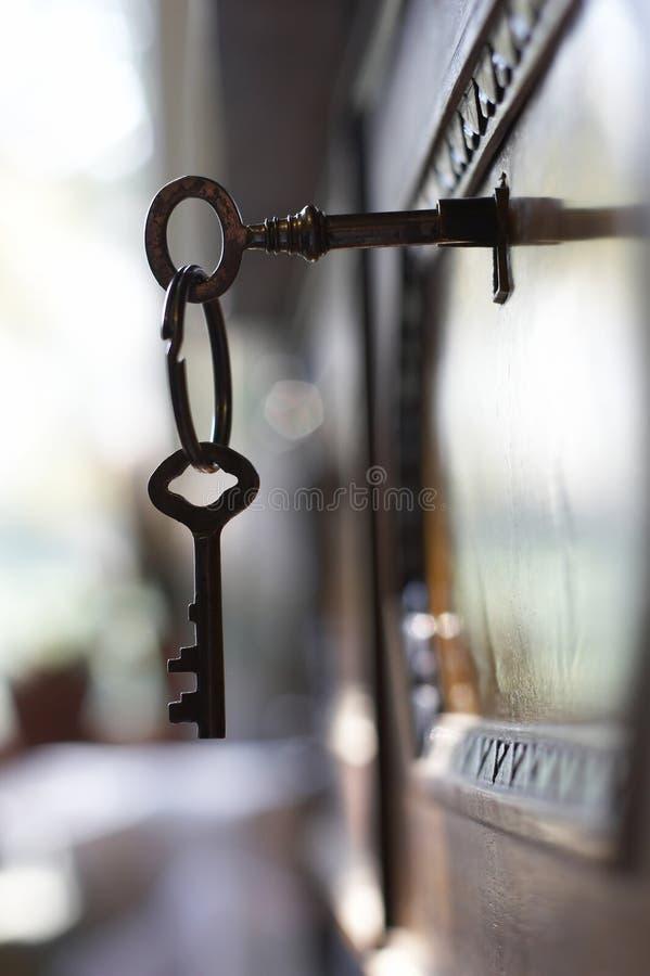 Schoof van sleutels stock fotografie