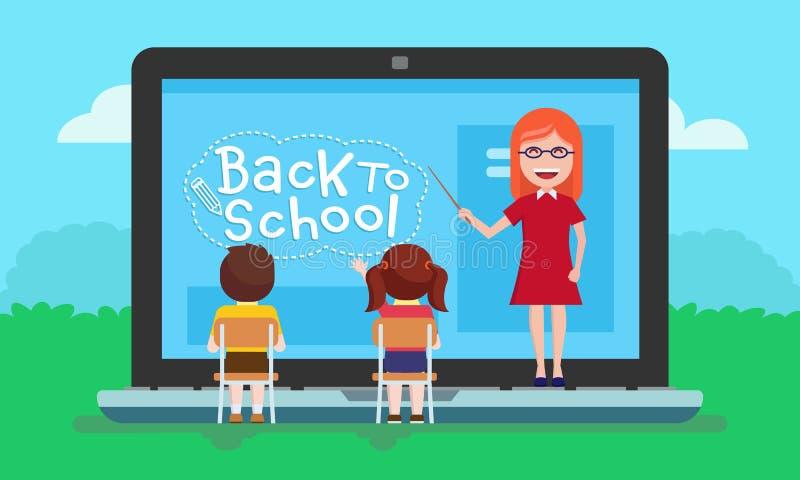 school stock illustratie