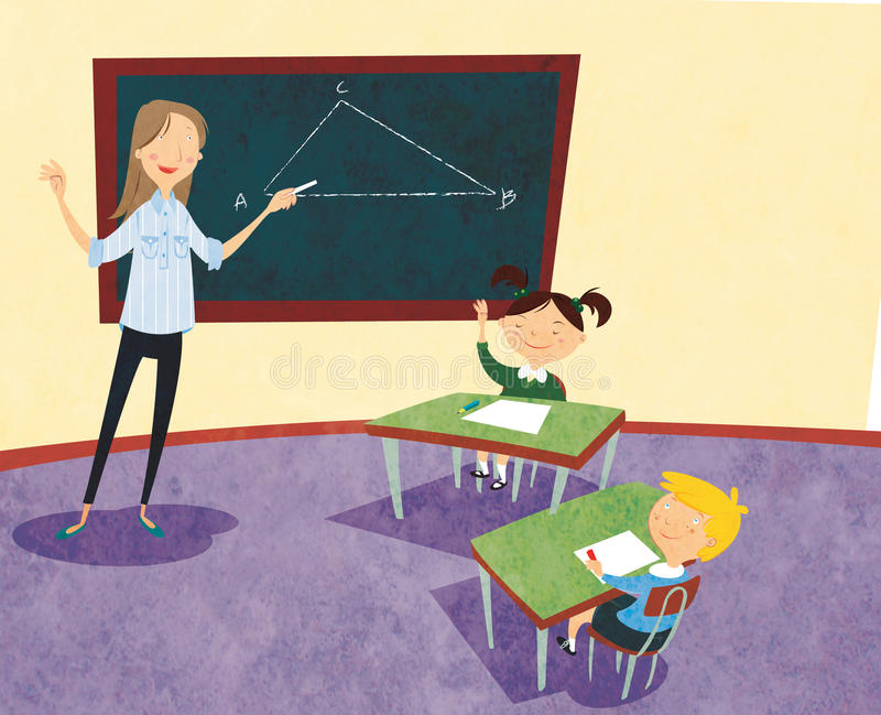 School stock illustration