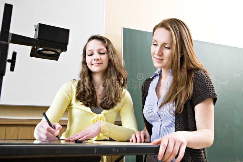 Download School stock image. Image of blackboard, school, schoolgirl - 24697733