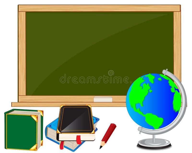 School accesories vector illustration