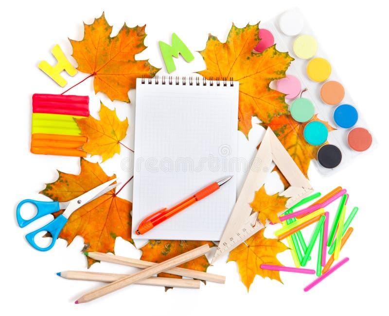Download School accessories stock photo. Image of school, paints - 28597862