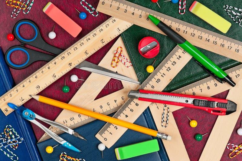 School accessories stock image