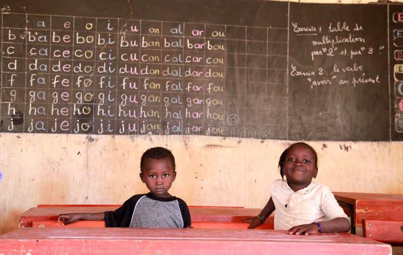 School in Afrika stock foto